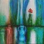 Still Life with Flower. Martha Harrell