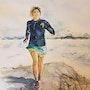 Trail en Chartreuse. Patricia Palenzuela Kroockmann