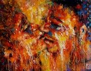 Amoureux. Flo Artiste Peintre