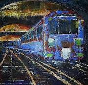 Metro. Flo Artiste Peintre