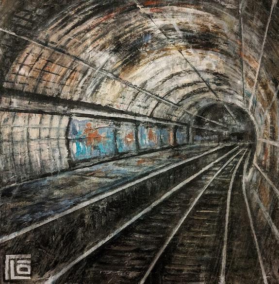Subway. Flo Flo Artiste Peintre