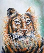Wild King. Harpreet Kaur