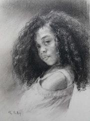 Jeune fille. Thérèse Hutin