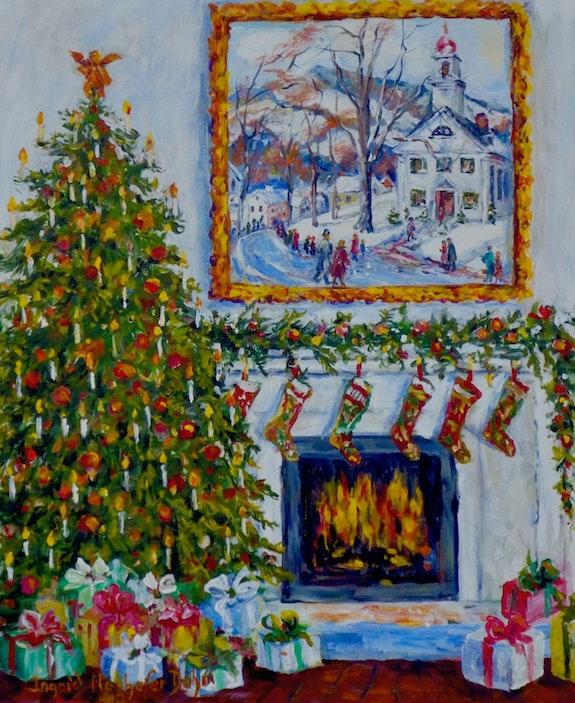 Christmas Card 2019. Ingrid Dohm Ingrid Neuhofer Dohm