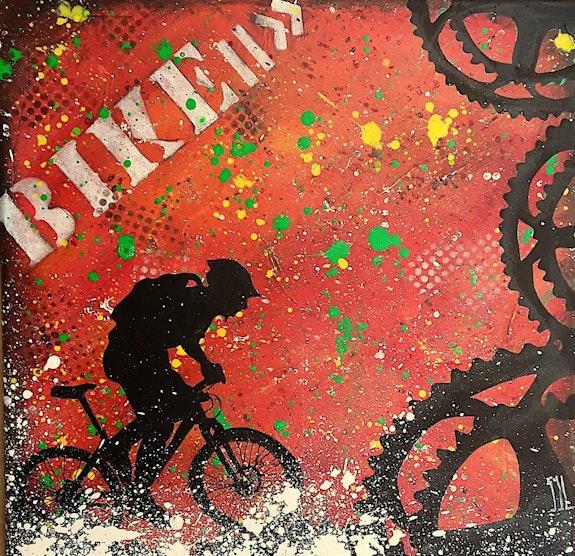 Graff'Bike. L'aquarelle Autrement L'aquarelle Autrement