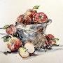 Récolte d'automne. Les pommes. Nadège Fray Laigroz