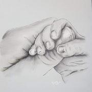 Ma petite main dans la tienne !. Anny Burtscher-Beaudoin