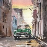 Une rue de la Havane. Vincent Bourdin