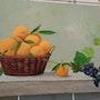 Panier de fruits. Marie-Thérèse Carli