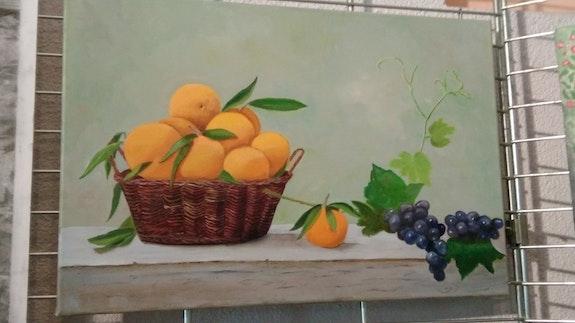 Panier de fruits. Marie-Thé Carli Marie-Thérèse Carli