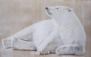 Polar bear relaxing 2. Thierry Bisch