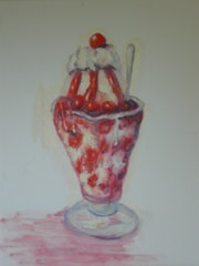 Strawberry ice cream Sundae- Sorry chocolate lovers!. Mike Martin