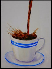 The perpetual cup of coffee-. Mike Martin
