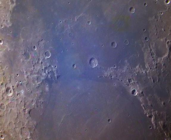 Moon, between seas. David James David James