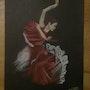 Danseuse de flamenco. Diane