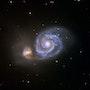 The Whirlpool galaxy. David James