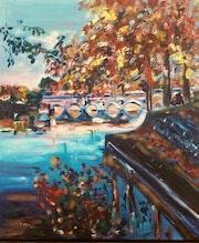Toulouse en automne.