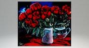 Le bouquet de nos désirs rouge sang..