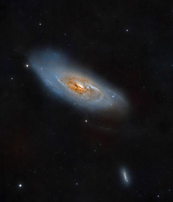 Messier 106. David James David James