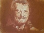 Johnny Hallyday. Diane