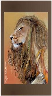 Lionne. Magali Rousseau