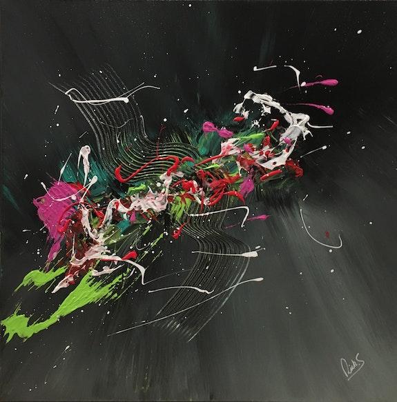 Oiseau de paradis. Ricksmith-Art Ricksmith-Art