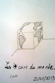 Les 4 coins du monde.