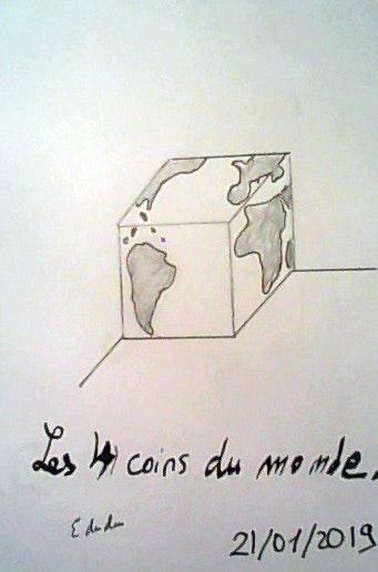 Les 4 coins du monde. Edeudeu Edeudeu