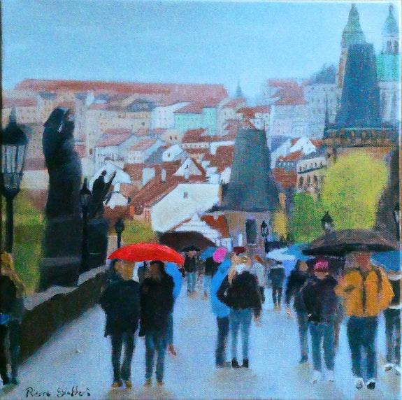 Le pont charles à Pragues. Cesar Luciano Cesar Luciano