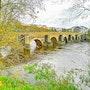 Puente romano somre el rio Miño, Lugo. M. Pilar