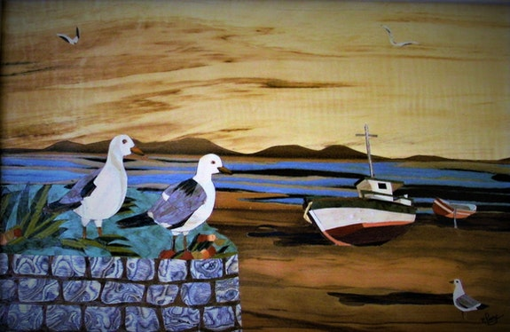 Les mouettes. Martine Perry Martine Perry