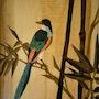 Oiseau de Chine. Martine Perry