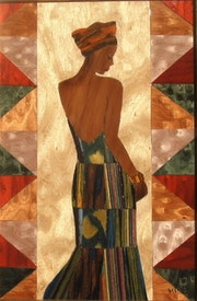 Princesse africaine. Martine Perry