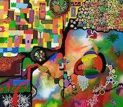 Composición abstracta - 4.
