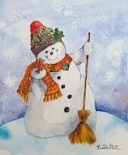 Bonhomme de neige.