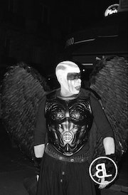Black angel - ange noir. Lb Photography