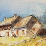 Les chalets de Laval, haute vallée de la Claree près de Briançon. Patricia Palenzuela Kroockmann