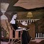 La femme au clair de lune. Martine Perry