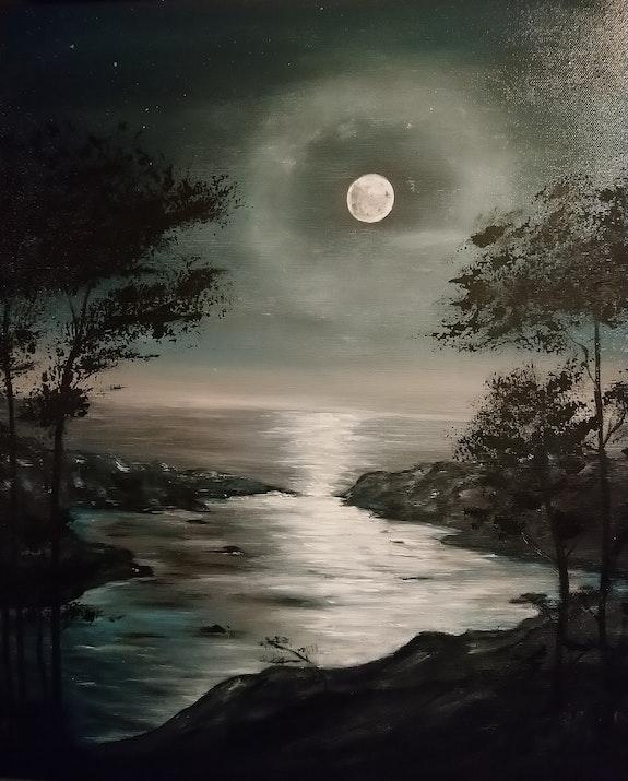 Clair de lune. Dequidt Fabienne Dequidt