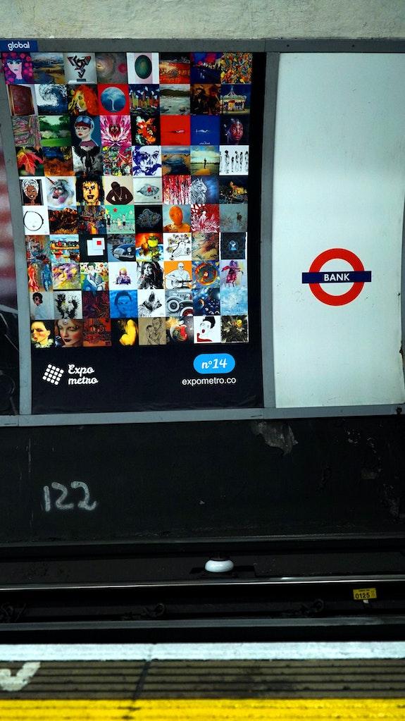 Affiche 14 - Expo Métro London 2019.  Artquid Team