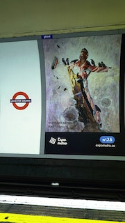 Affiche 28 - Expo Métro London 2019.