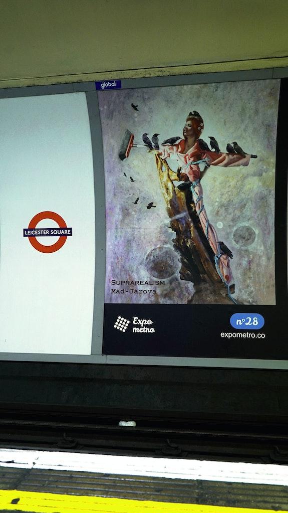 Poster 28 - Expo Metro London 2019.  Artquid Team