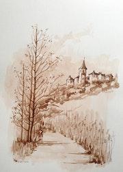 Village de Dordogne.