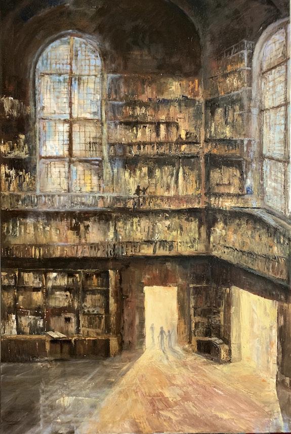 L´ancienne Bibliothéque - die alte Bibliothek. Peter Klonowski Peter Klonowski