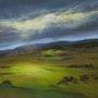 Coup de soleil sur la vallée. Daniele Trigalet