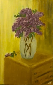 Bouquet de lilas.