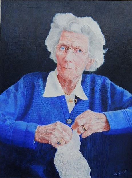 Helen's portrait. Jacek Krzysik Jacek