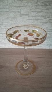 Champagnerschale, Josephinenhütte, Schreiberhau, um 1900.. Glaskunstgalerie Raphael
