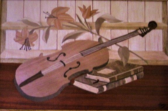 Le violon. Martine Perry Martine Perry