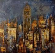 Nuit sur la ville.